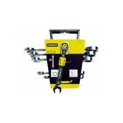 Set 6 Chiavi Combinate a Cricchetto con Profilo Maxi Drive Plus™