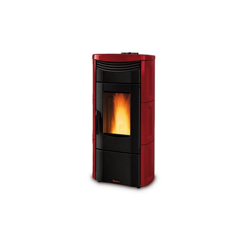 Stufa a pellet emma la nordica extraflame ottimoshop for Stufa nordica emma