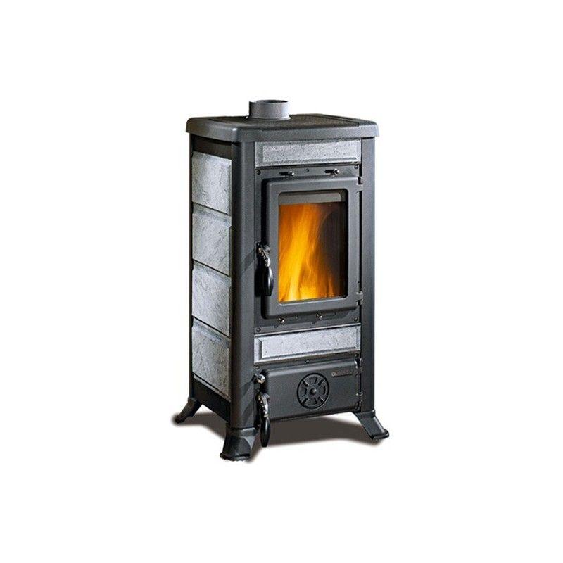 Stufa a legna fulvia la nordica extraflame ottimoshop - Stufe a olio elettriche ...