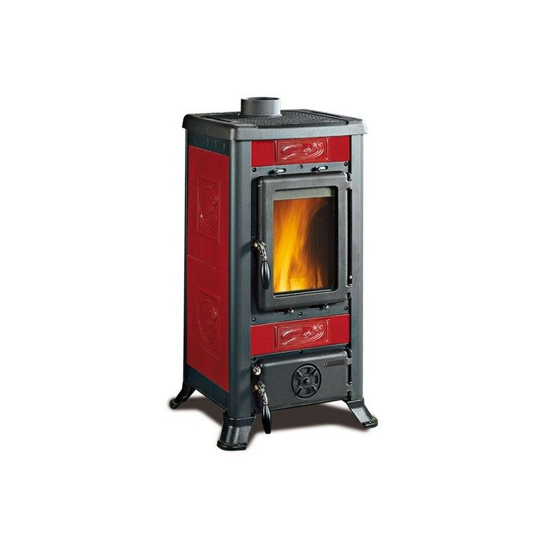 Stufa a legna fulvia la nordica extraflame ottimoshop for Stufe combinate legna pellet nordica
