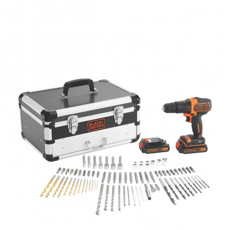 TRAPANO AVVITATORE SUPER KIT - BLACK & DECKER