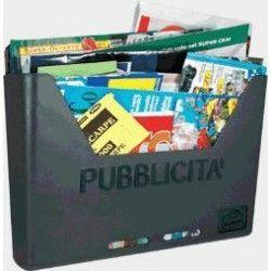 CASSETTA PER PUBBLICITA' MOD. CAROSELLO- ALUBOX