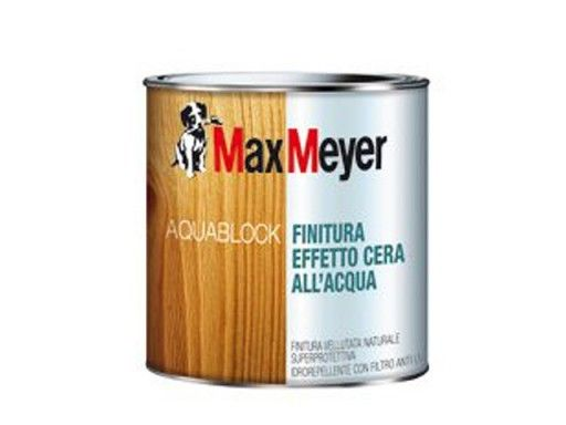 Colori Per Esterni Max Meyer : Aquablock finitura effeto cera all acqua incolore max meyer