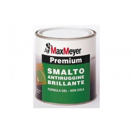 MAX MEYER – PREMIUM, SMALTO ANTIRUGGINE BRILLANTE