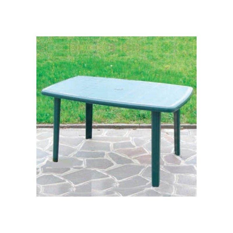 Tavoli Da Esterno In Resina.Tavolo Da Giardino In Resina 137x85 Ottimoshop